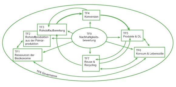 Themenfelder der Bioökonomie