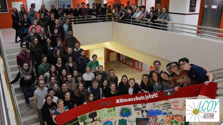 Ziel der österreichischen Jugendklimakonferenz LCOY Austria ist es seit 2018, die Jugend für den Klimaschutz zu vernetzen und zu informieren. Die dialogorientierte und interaktive Konferenz wurde von der jungen NGO CliMates Austria gestaltet. © Leonhard Sens