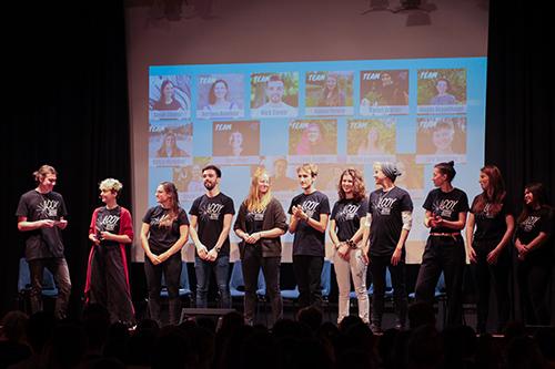 Das LCOY-Team bei der Jugendklimakonferenz 2019. Foto © Jennifer Vacha