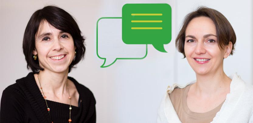Susanne Hasenhüttl und Katharina Muner-Sammer (ÖGUT)